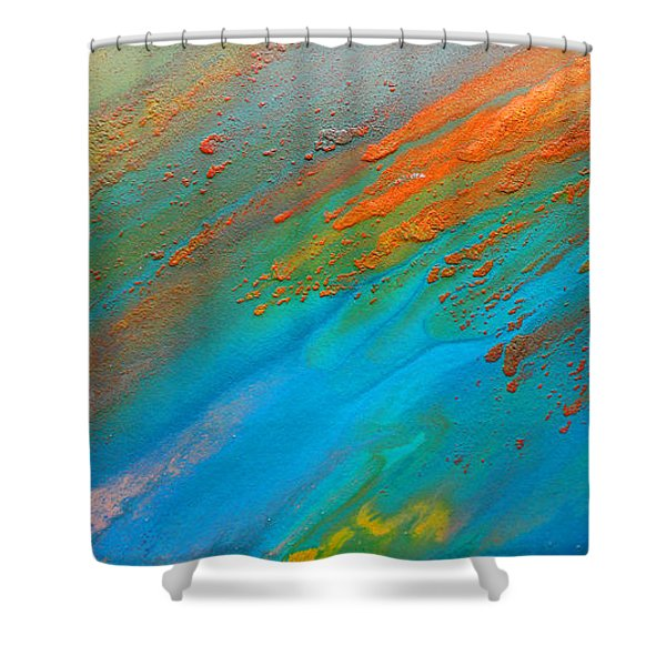 Abstract Dreams Come True Shower Curtain