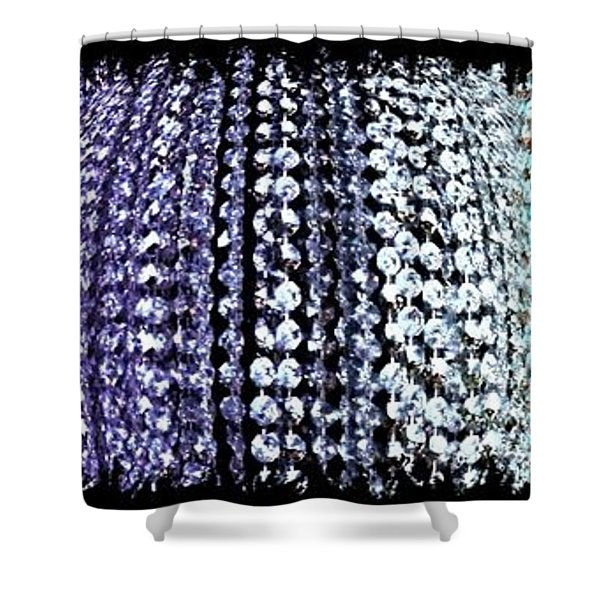 Abstract Fusion 219 Shower Curtain
