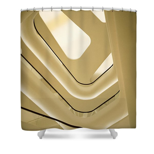 Abstract Geometry Shower Curtain
