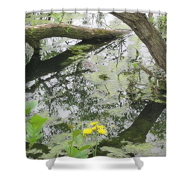 Abstract Nature 2 Shower Curtain