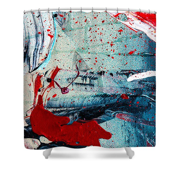 Abstract Original Artwork One Hundred Phoenixes Untitled Number Six Shower Curtain
