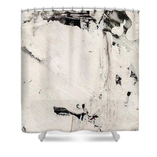 Abstract Original Painting Number Four Shower Curtain