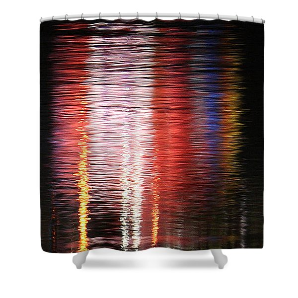 Abstract Realism Shower Curtain