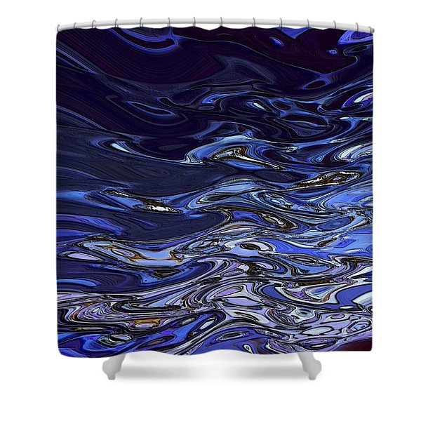 Abstract Reflections - Digital Art #2 Shower Curtain