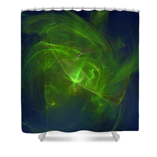 Acidic Voulge Shower Curtain