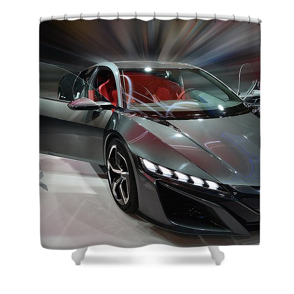 Acura Nsx Concept 2013 Shower Curtain
