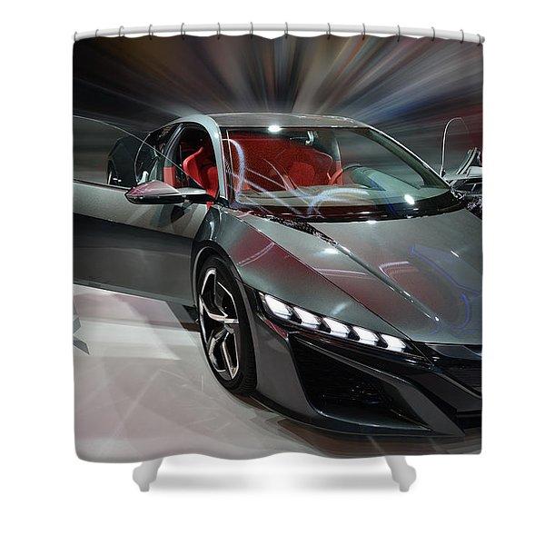 Acura Nsx Concept 2013 Shower Curtain