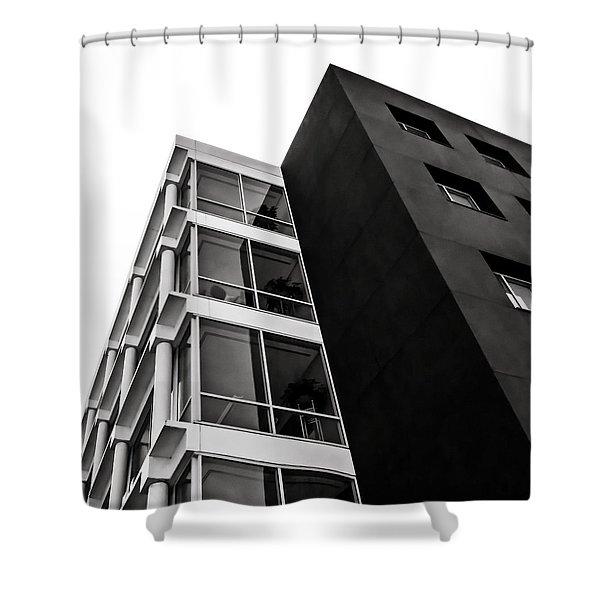 Acute Insight Shower Curtain