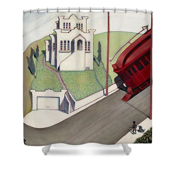 Adams Hill Shower Curtain
