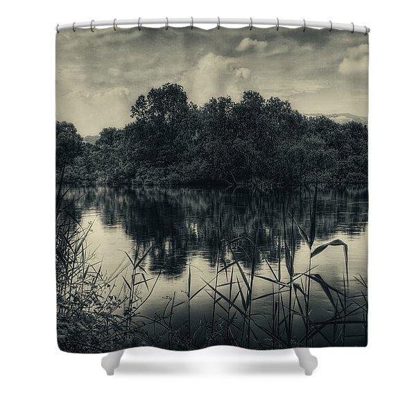 Adda River 3 Shower Curtain