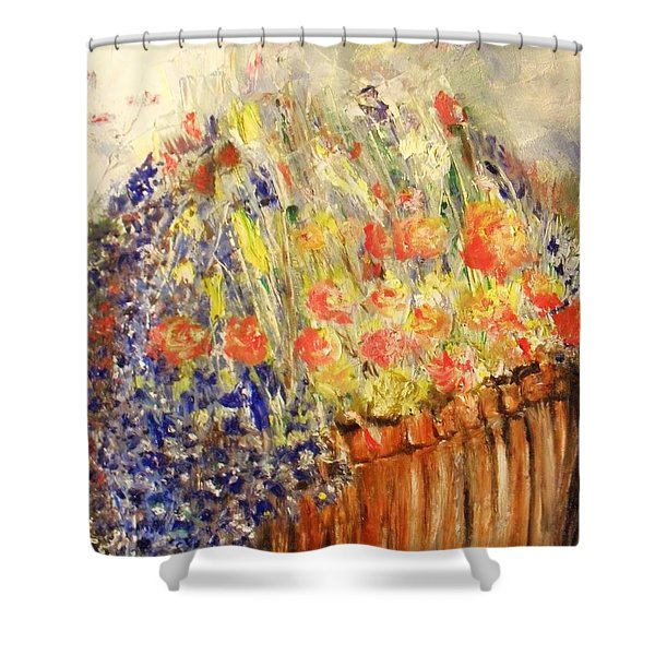 Adirondack Floral Shower Curtain