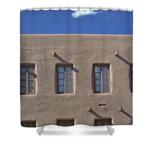 Adobe Architecture II Shower Curtain