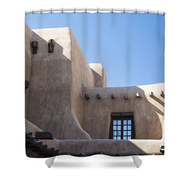 Adobe Sky Shower Curtain