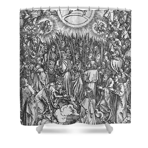 Adoration Of The Lamb Shower Curtain