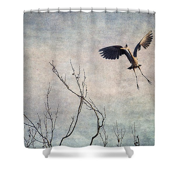 Aerial Dance Shower Curtain