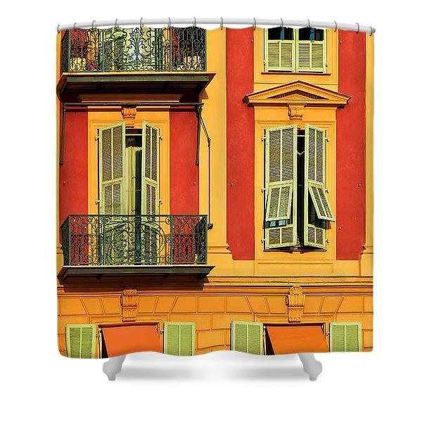 Afternoon Windows Shower Curtain