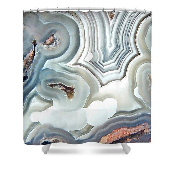 Agate 2 Micro Shower Curtain