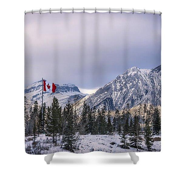Ageless Northern Spirit Shower Curtain
