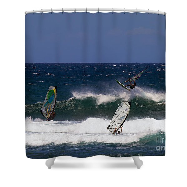 Air Time Shower Curtain