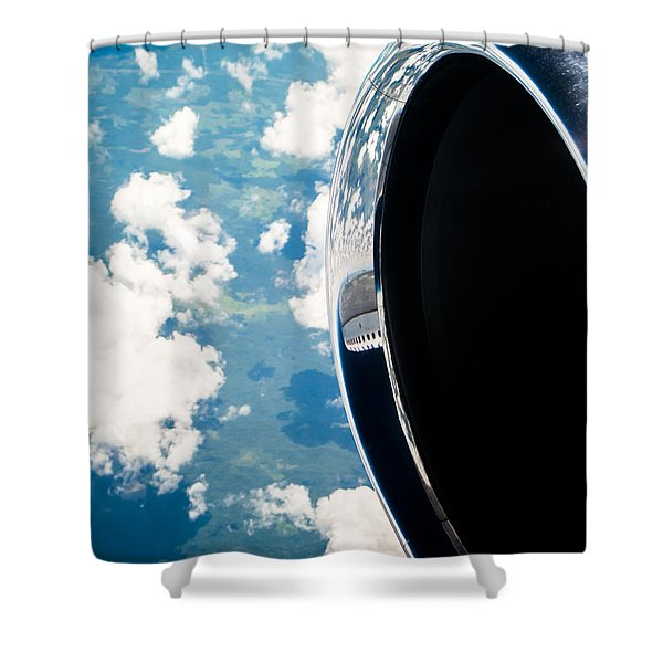 Tropical Skies Shower Curtain