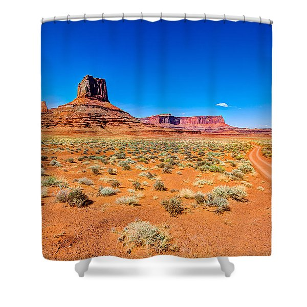 Airport Tower I Shower Curtain