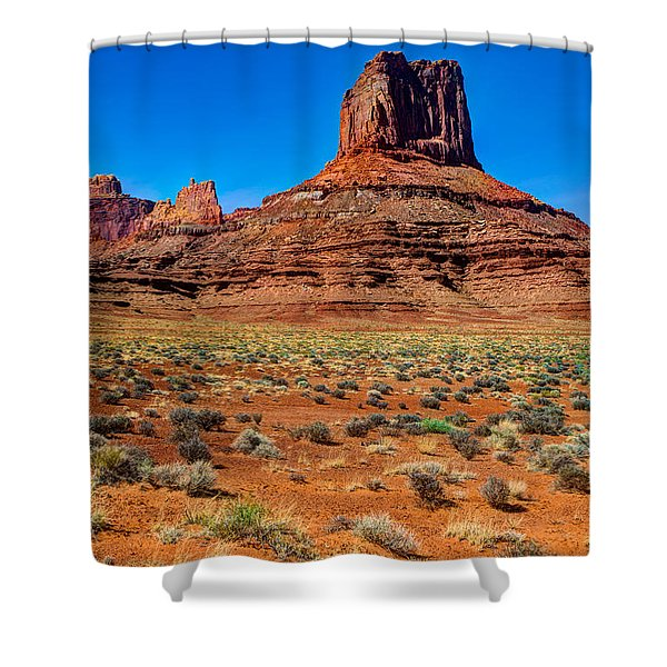 Airport Tower II Shower Curtain