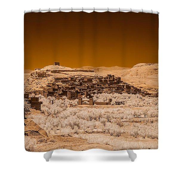 Ait Benhaddou Shower Curtain