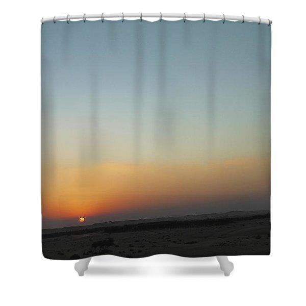 Al Ain Desert 2 Shower Curtain