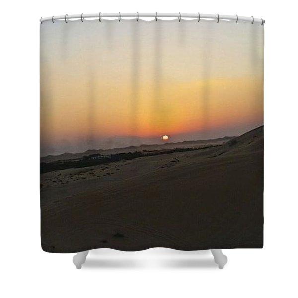 Al Ain Desert 20 Shower Curtain