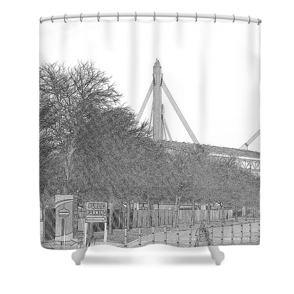 Alamo Dome Shower Curtain