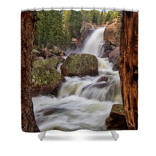 Alberta Falls II Shower Curtain