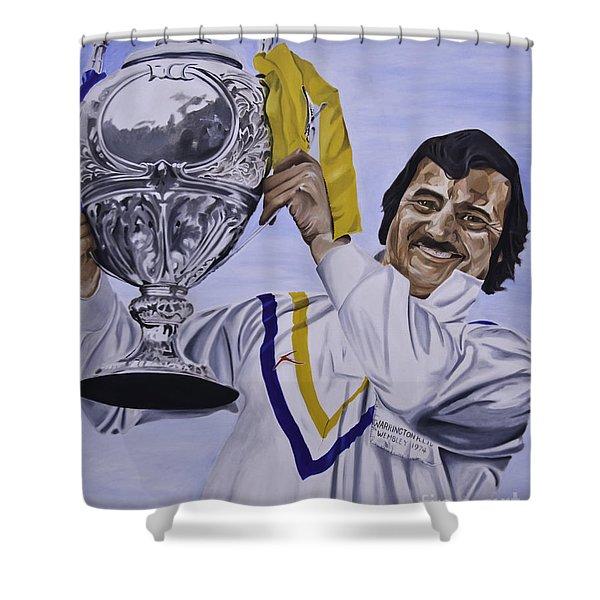 Alex Murphy Shower Curtain