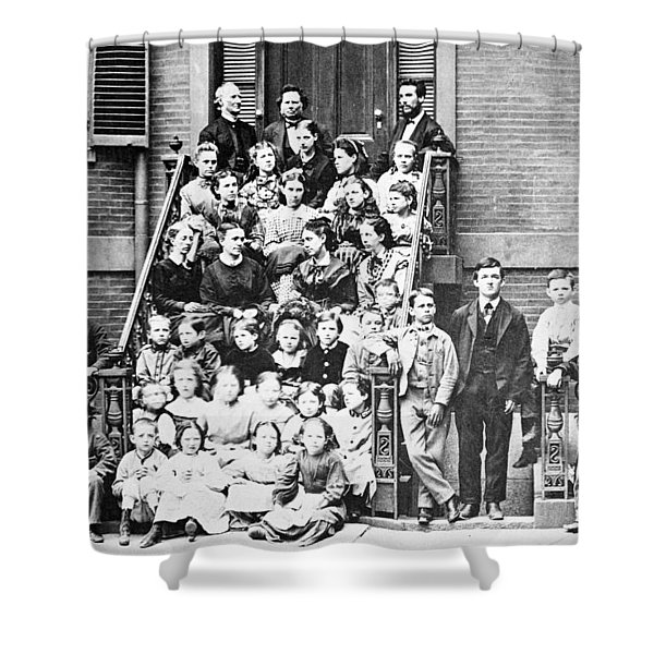 Alexander Graham Bell, School Shower Curtain