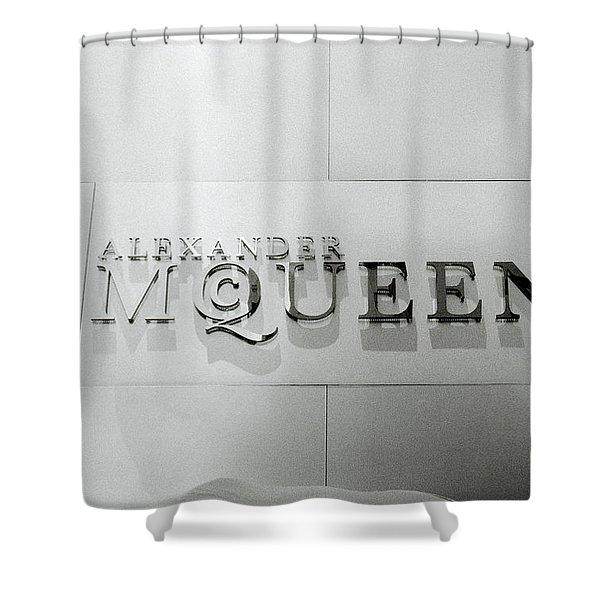 Alexander Mcqueen Shower Curtain