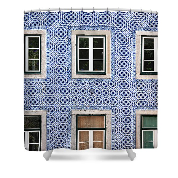 Alfama 2 Shower Curtain