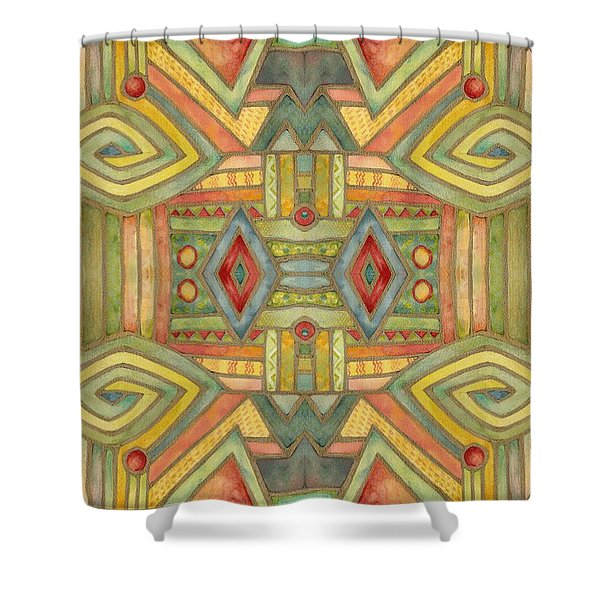 All About E Shower Curtain