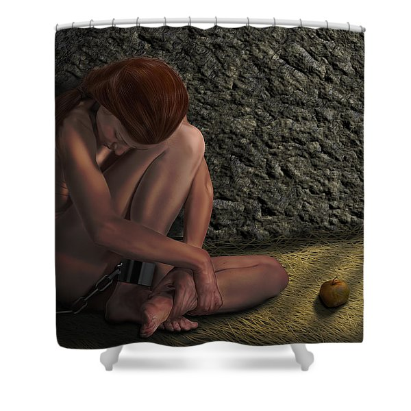 All About Eve Shower Curtain