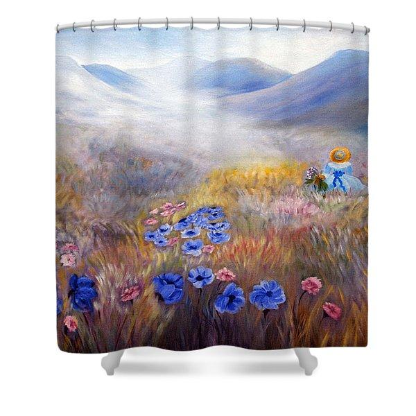All In A Dream - Impressionism Shower Curtain