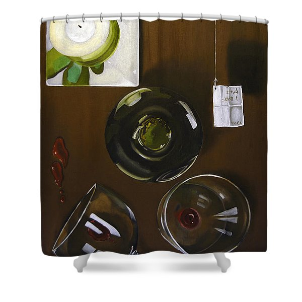 All Looked Fine From Our Perspective Shower Curtain