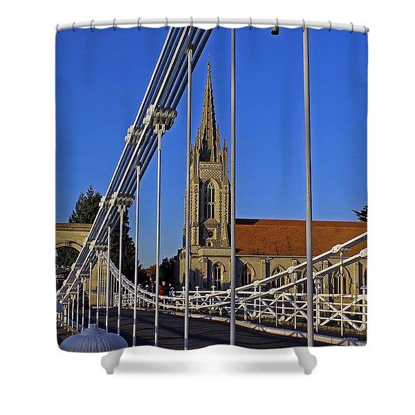 All Saints Church Shower Curtain