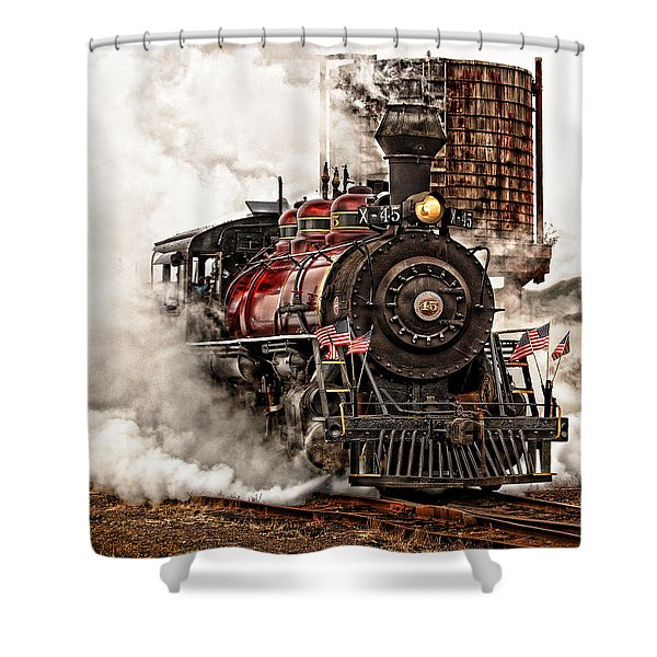 All Steamed Up Shower Curtain