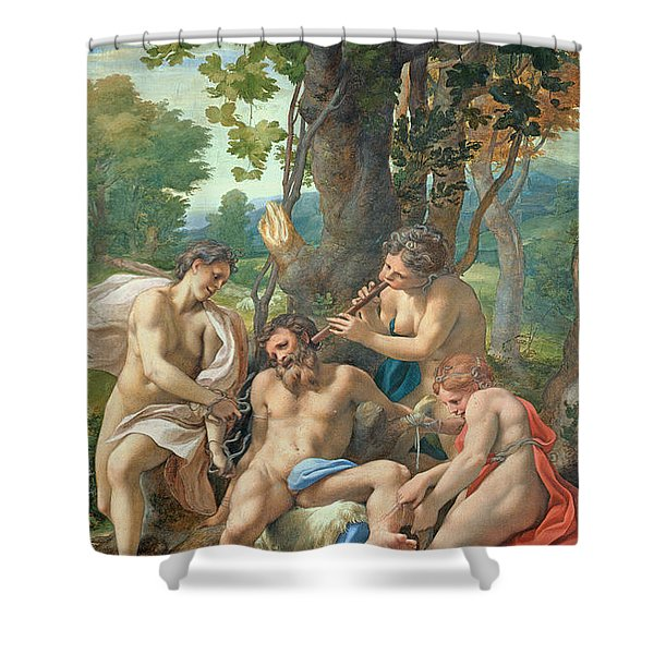 Allegory Of The Vices Shower Curtain