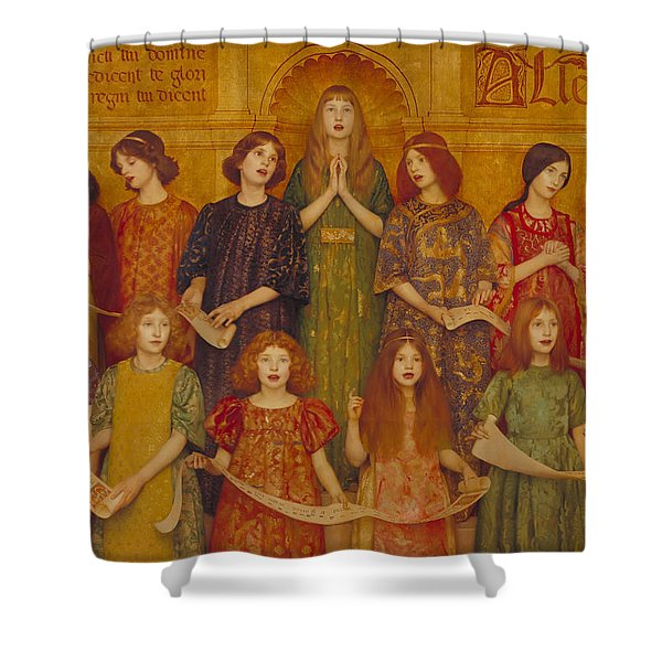 Alleluia Shower Curtain