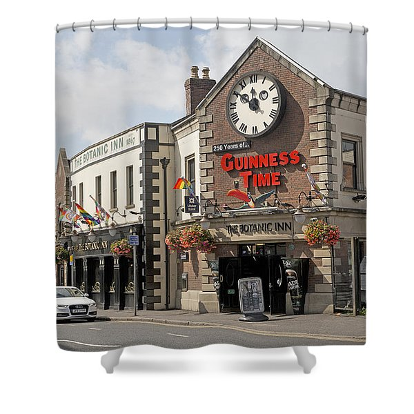 Almost Twelve Belfast Ireland Shower Curtain