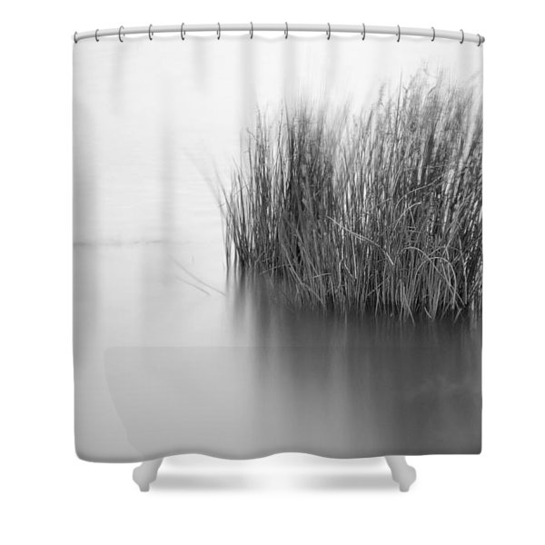 Alone In The Middle Shower Curtain