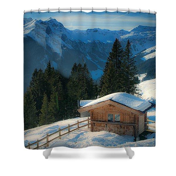 Alpine View Shower Curtain