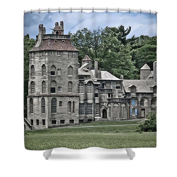 Amazing Fonthill Castle Shower Curtain