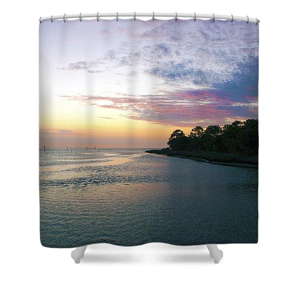 Amazing View Shower Curtain