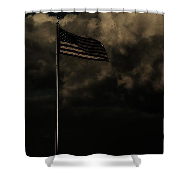 America....... Shower Curtain