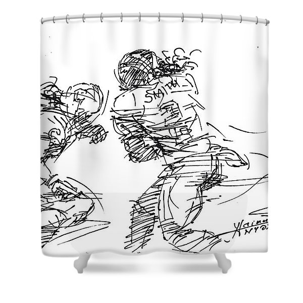 American Football 1 Shower Curtain
